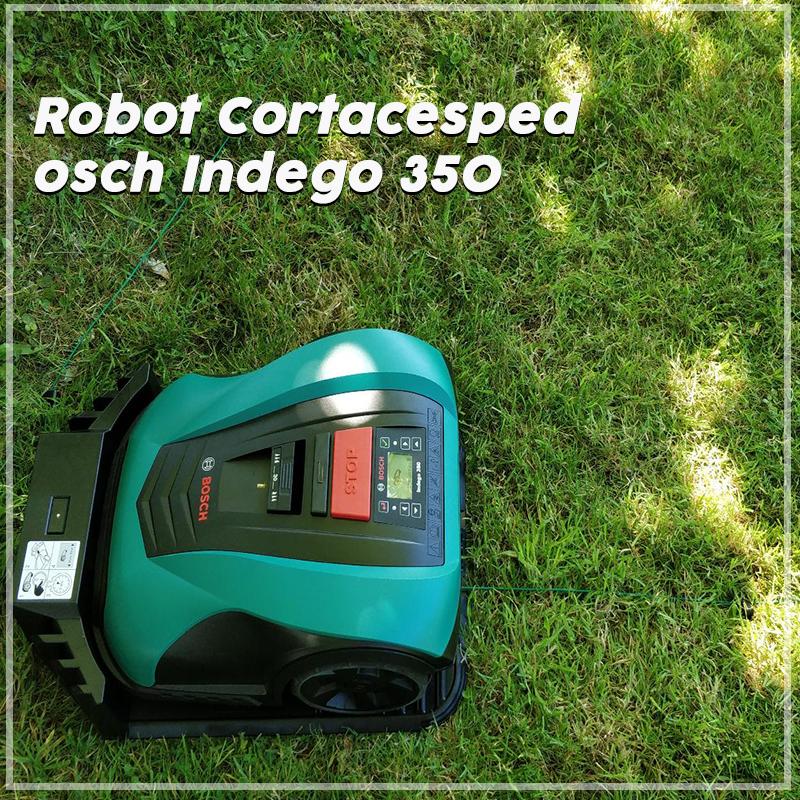 Robot Cortacesped Bosch Indego 350