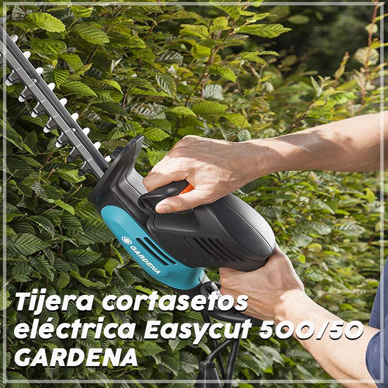 Tijera cortasetos eléctrica Easycut 500 Gardena